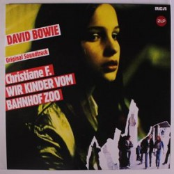 David Bowie - Original Soundtrack Christiane F. Wir Kinder Vom Bahnhof Zoo - Double LP Vinyl Coloured Blue