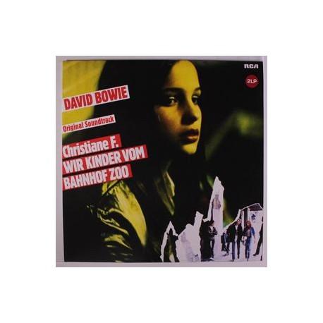 David Bowie - Original Soundtrack Christiane F. Wir Kinder Vom Bahnhof Zoo - Double LP Vinyl