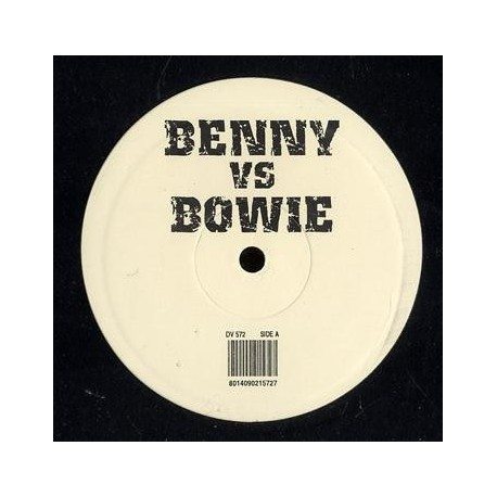 David Bowie vs Benny Benassi - DJ - Maxi Vinyl Promo