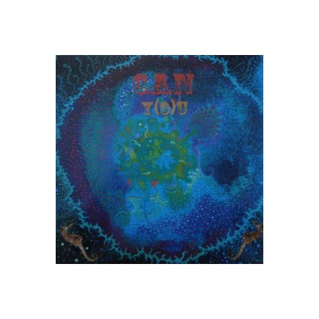 Can - Y (O) U - LP Vinyl Blue Picture Sleeve
