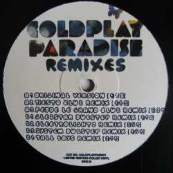 Coldplay – Paradise Remixes - Maxi Vinyl Limited Edition