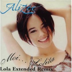 Alizée - Moi... Lolita - Lola Extended Remix - CD Single Promo Espagne