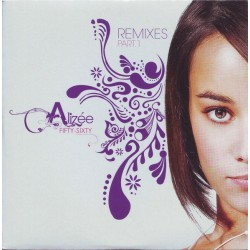 Alizée ‎– Fifty-Sixty (Remixes Part. 1) - CD Single Promo