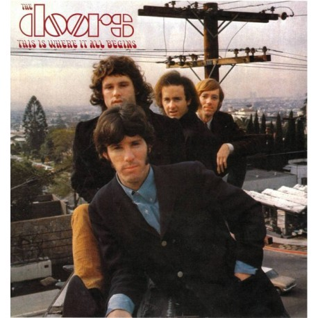 The Doors – This Is Where It All Begins - Coloured LP Vinyl