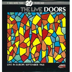 The Doors - The Live Doors - Live In Europe September 1968 - Double Vinyl LP Coloured