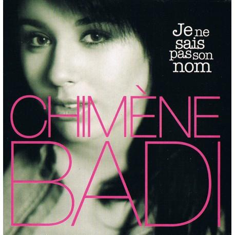 Chimène Badi - Je Ne Sais Pas Son Nom - CD Single Promo