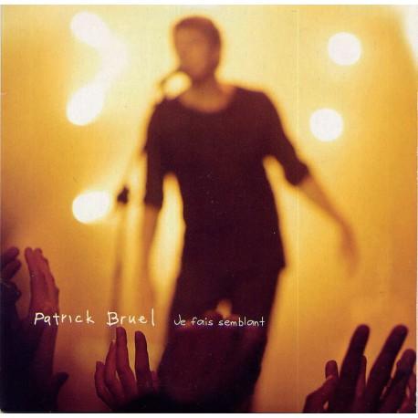 Patrick Bruel - Je Fais Semblant - CD Single Promo