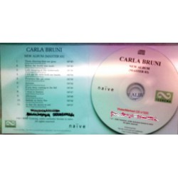 Carla Bruni - No Promises - New Album - Master 03 - CDr Album Promo