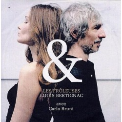 Carla Bruni & Louis Bertignac - Les Frôleuses - CDr Single Promo