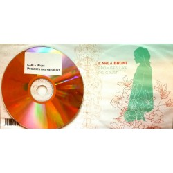 Carla Bruni ‎– Promises Like Pie-Crust - CD Single Promo