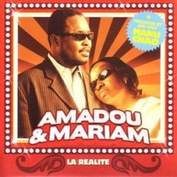 Amadou & Mariam - La Réalité  ( Manu Chao ) - CD Single