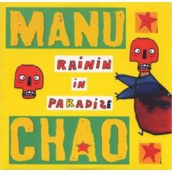 Manu Chao ‎– Rainin' In Paradize - CD Single Promo