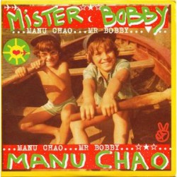 Manu Chao ‎– Mister Bobby - CD Single Promo
