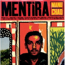 Manu Chao ‎– Mentira - CD Single Promo