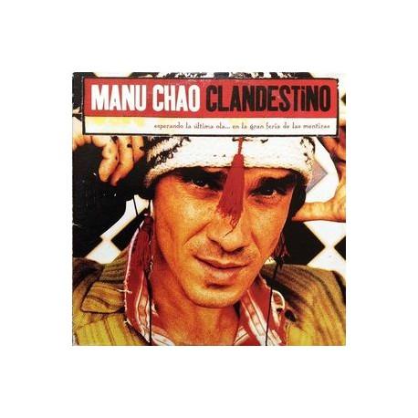 Manu Chao – Clandestino - CD Single Promo 1 Track