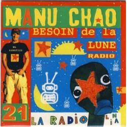 Manu Chao – Besoin De La Lune - CDr Single Promo