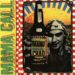Manu Chao ‎– Mama Call - CD Single Promo