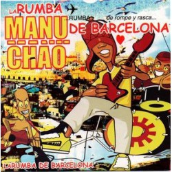 Manu Chao ‎– La Rumba De Barcelona - CD Single Promo