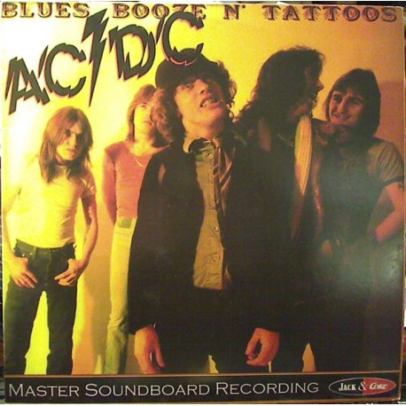 AC/DC – Blues Booze N' Tattoos LP vinyl