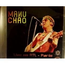 Manu Chao - Live on RTL - Paris - CD Album