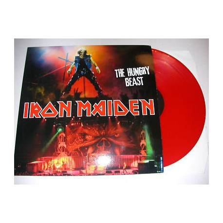Iron Maiden ‎– The Hungry Beast -Coloured LP Vinyl