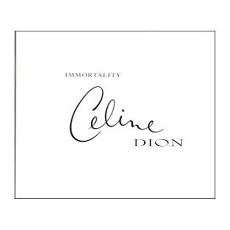 Celine Dion – Immortality - CD Maxi Single Promo