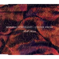 Céline Dion & Barbra Streisand - Tell Him - CD Maxi Single Promo