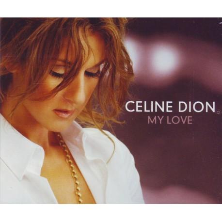 Céline Dion - My Love - CD Maxi Single Promo