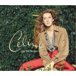 Céline Dion - Live (For The One I Love) - CD Maxi Single