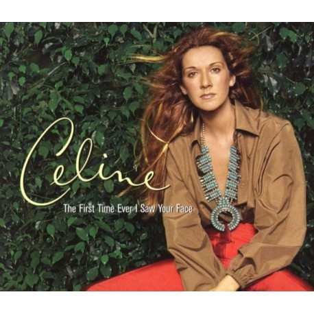 Céline Dion -  The First Time Ever I Saw Your Face - CD Maxi Single