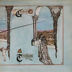 Genesis - Trespass - LP Vinyl - Pressing Italy 1972