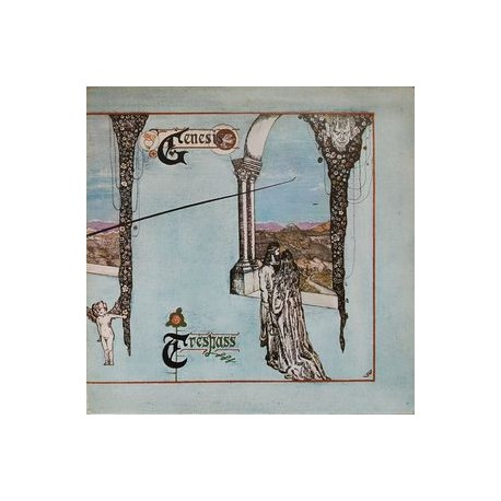 Genesis - Trespass - LP Vinyl - Pressing Italy 1972