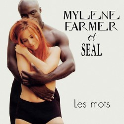 Mylène Farmer & Seal - Les Mots - CD Single