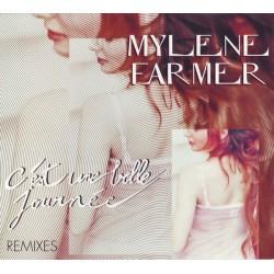 Mylène Farmer - C'Est Une Belle Journée (Remixes) - CD Maxi Single Digipack Edition