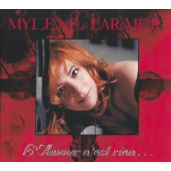Mylène Farmer -  L'Amour N'Est Rien.. - CD Single Digipack Edition