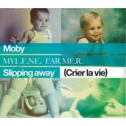 Mylène Farmer & Moby - Slipping Away (Crier La Vie) - CD Maxi Single