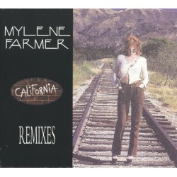 Mylène Farmer - California (Remixes) - CD Maxi Single Digipack Edition