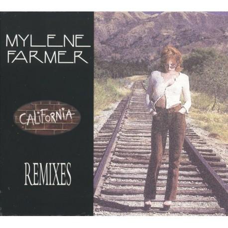 Mylène Farmer - California (Remixes) - CD Maxi Single Digipack Edition