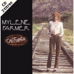 Mylène Farmer - California - CD Single 2 Tracks
