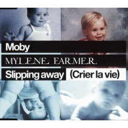 Mylène Farmer & Moby - Slipping Away (Crier La Vie) - CD Maxi Single Enhanced