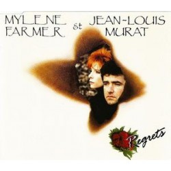 Mylène Farmer & Jean Louis Murat - Regrets - CD Maxi Single