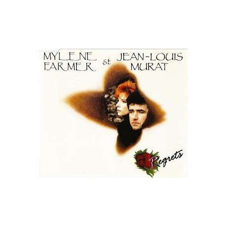 Mylène Farmer & Jean Louis Murat - Regrets - CD Maxi Single