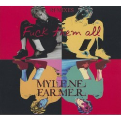 Mylène Farmer - Fuck Them All (Remixes) - CD Maxi Single Digipack