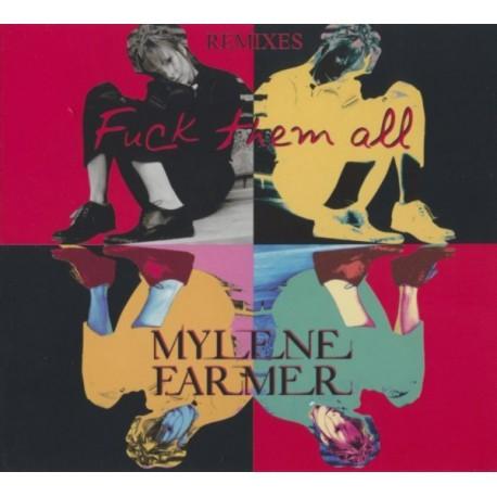 Mylène Farmer - Fuck Them All (Remixes) - CD Maxi Single Digipack