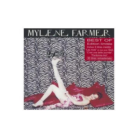 Mylène Farmer - Les Mots - Double CD Album Digipack Edition
