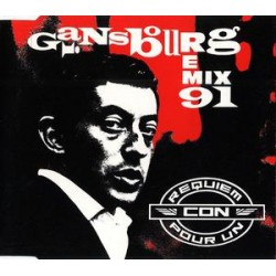 Serge Gainsbourg - Requiem Pour Un Con (Remix 91) - CD Maxi Single