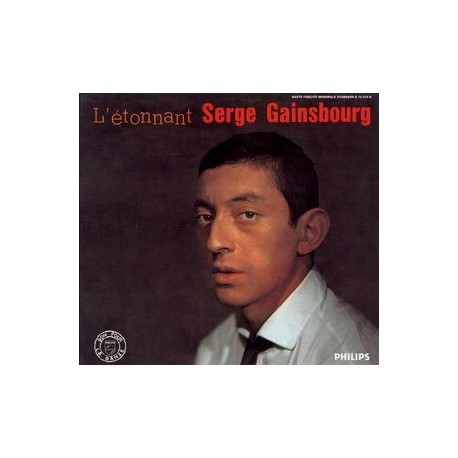 Serge Gainsbourg - L'Étonnant Serge Gainsbourg (N°3) - CD Album Digipack