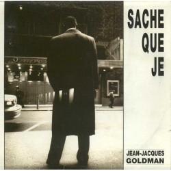Jean Jacques Goldman -  Sache Que Je - CD Single