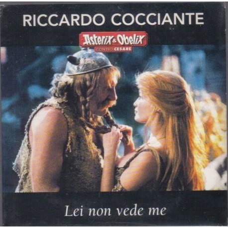 Riccardo Cocciante - Lei Non Vede Me - Asterix & Obelix - CD Single