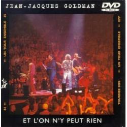 Jean Jacques Goldman - Et L'On N'Y Peut Rien - DVD Single